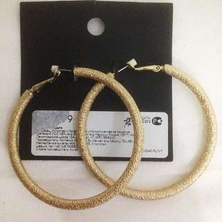 [NEW] H&M Gold Round Earrings