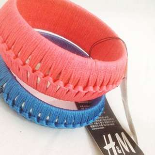 [NEW] H&M Fashion Bangles Bracelet 2pcs