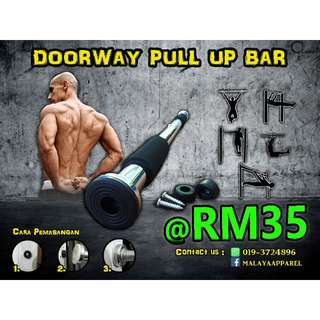 DOORWAY PULL UP CHIN UP BAR - WORKOUT FROM HOME!