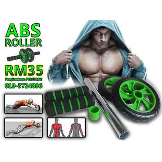 ROLLER ABS - 6 PACKS WORKOUT FROM HOME!