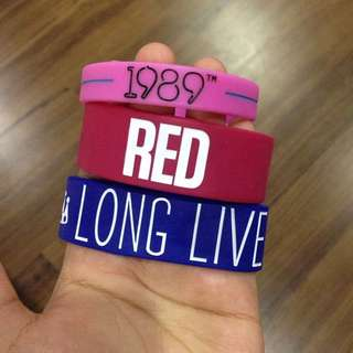 Taylor Swift Rubber Bracelets (COMBO)