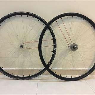 wheelset 700c flipflop hub