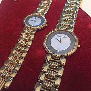 Authentic Christian Dior Authentic Gold Male & Female Watch