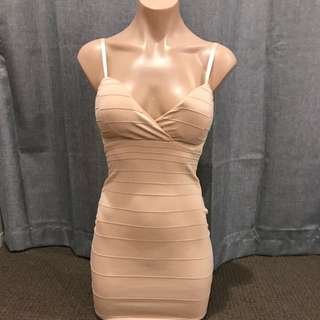 Nude Going Out Dress