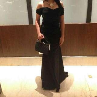 Prom Night Dress Black