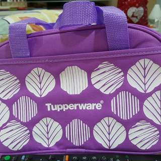 Purple Tupperware Multi Purpose Bag With Pockets