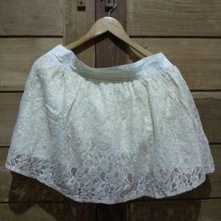 Farrel & Brown Lace Skirt