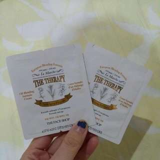 The Face Shop Le Marche Therapy Sample