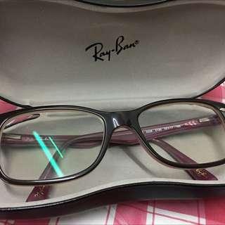 Ray Ban 紫色 眼鏡