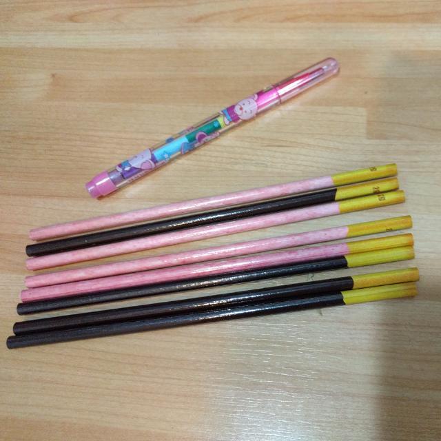 巧克力棒造型 鉛筆 韓製。含運
