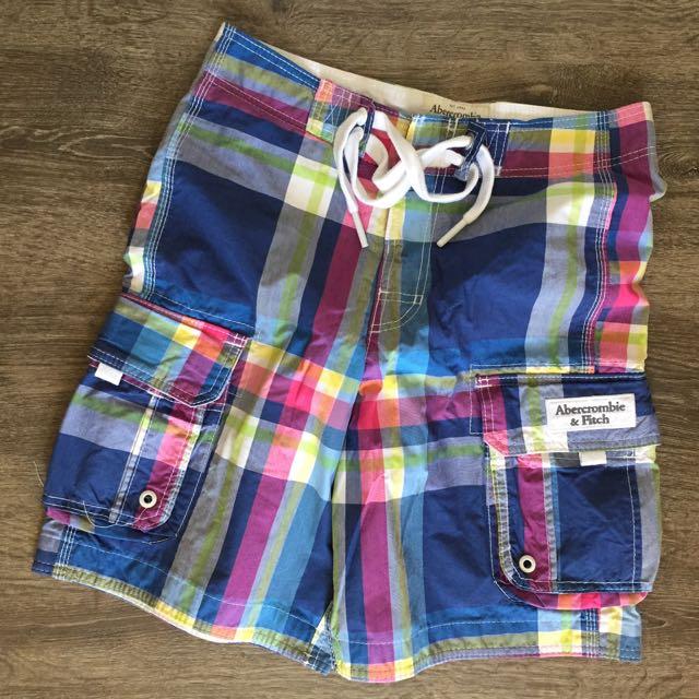 Abercrombie & Fitch 麋鹿海灘褲(XS)