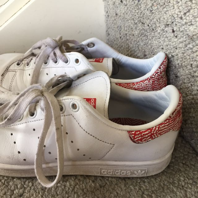 Adidas Red Stan Smiths