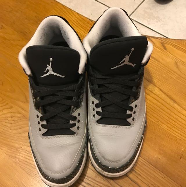Air Jordan 3代 灰狼