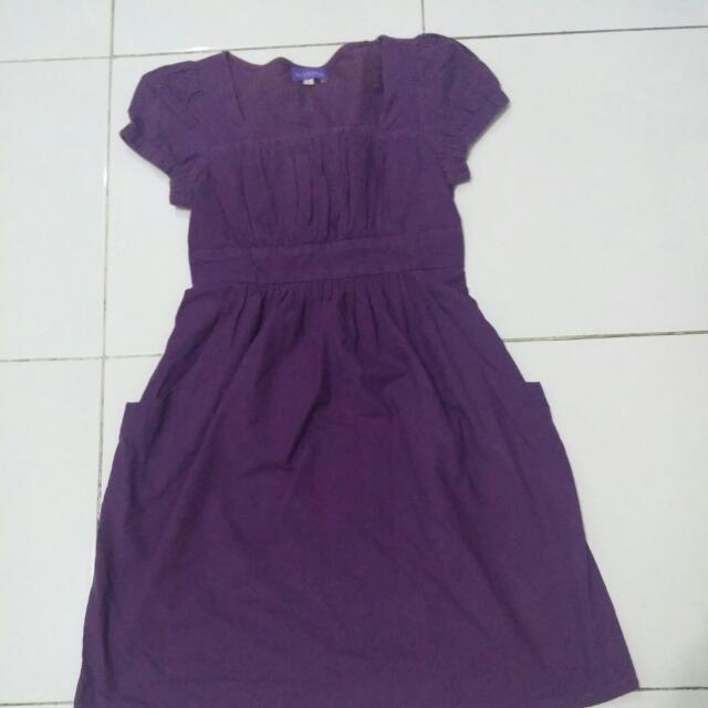 Arithalia Purple Dress