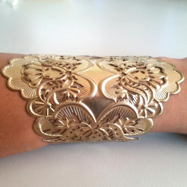Cuff Bracelet- GOLD