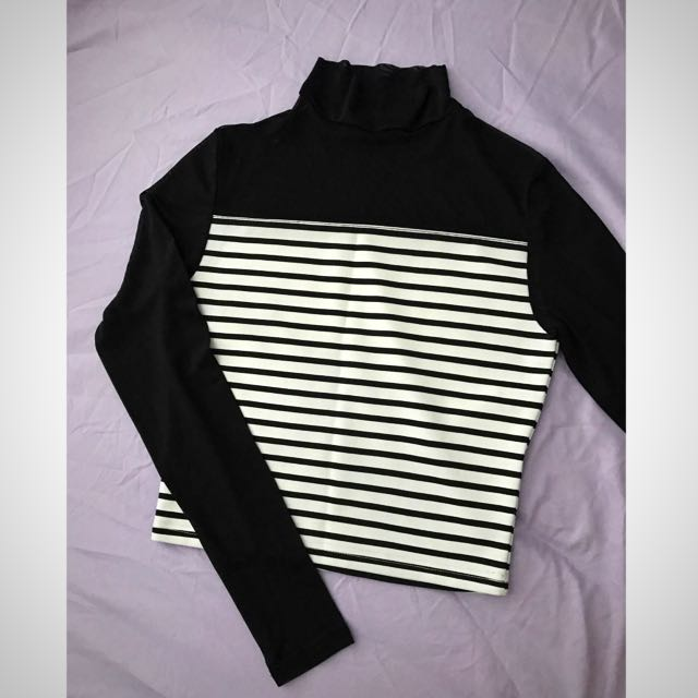 Attractive Transparent Classic Stripe Top
