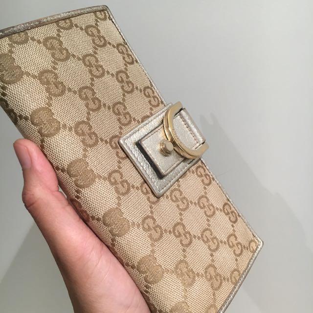Authentic Gucci Monogram Wallet