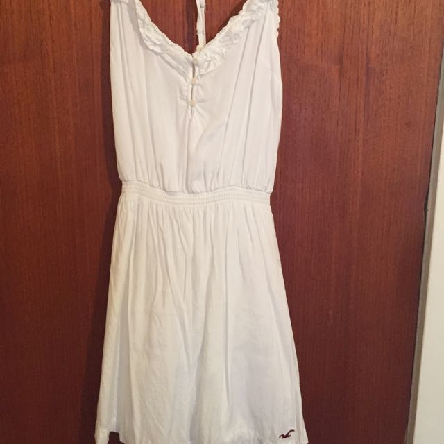Authentic Hollister White Dress 12