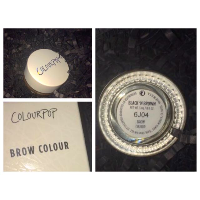 Black N' Brown Eyebrow Pomade