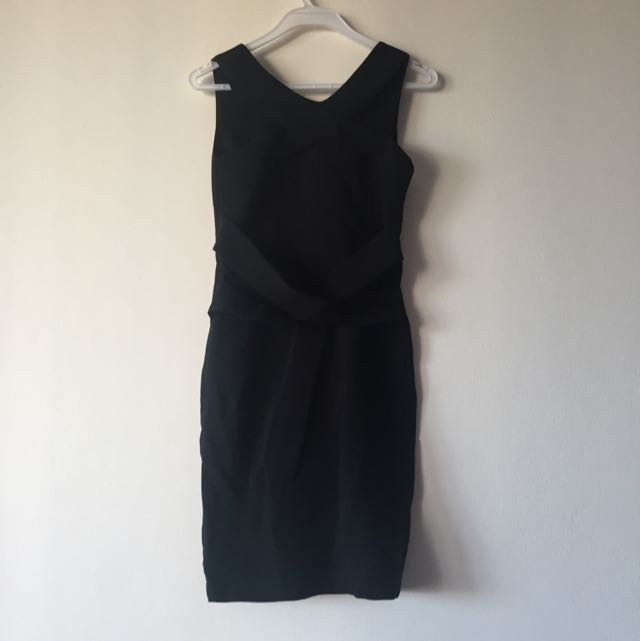 Black Work Dress