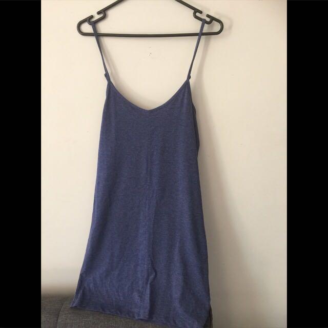 Bodycon Dress - Blue