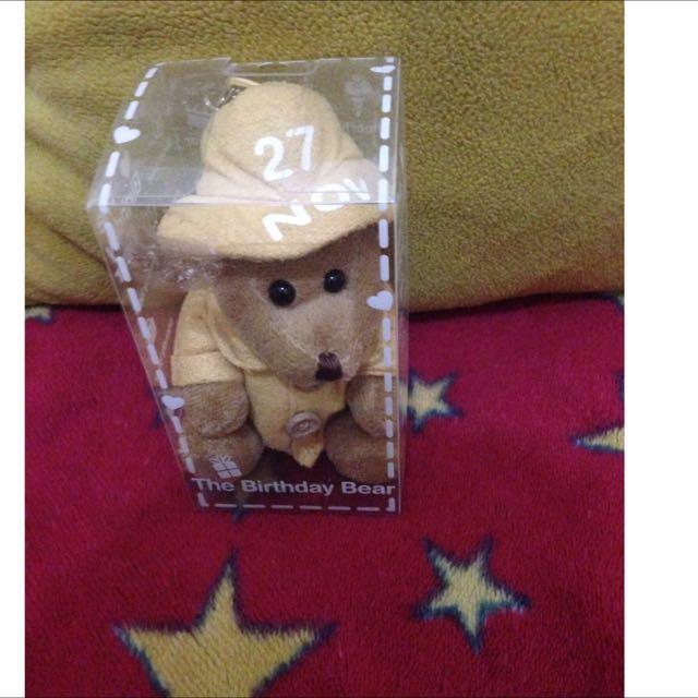 Boneka The Birthday Bear (27 Nov)