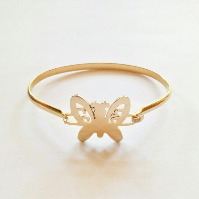 Butterfly Stainless Bangle