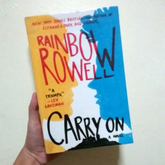 (REPRICED) Carry On - Rainbow Rowell