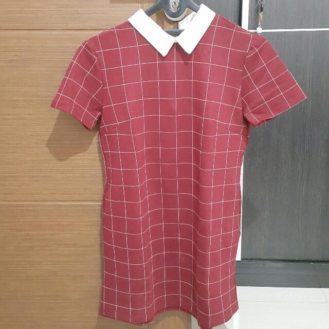 CHOCOCHIPS Collar Dress