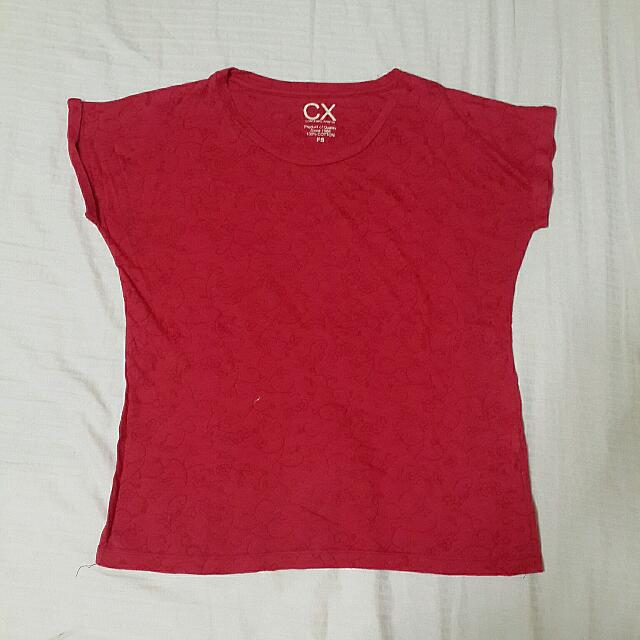 Contempo Red T-shirt