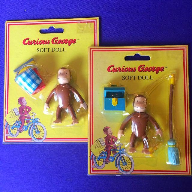 Curious George Figurine BNIB