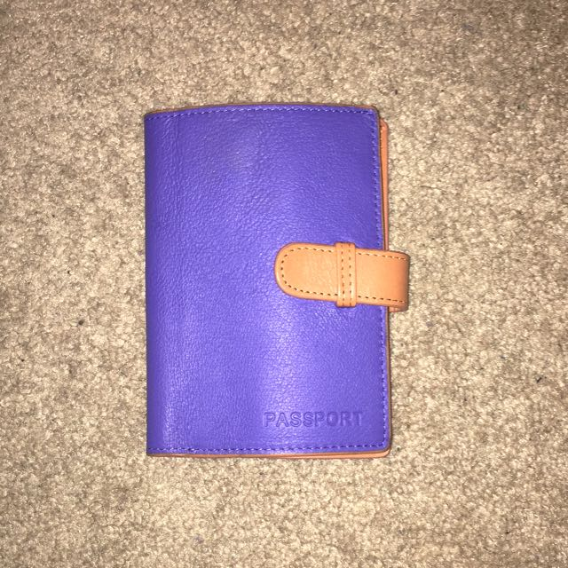 Danier Leather Passport Wallet