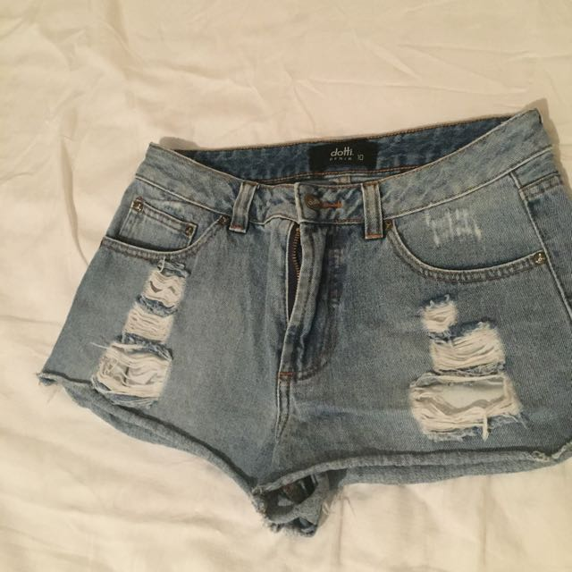 Dotti Denim Short Size10