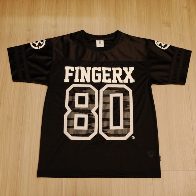 Fingercroxx 網眼足球T 迷彩 購自香港I.T