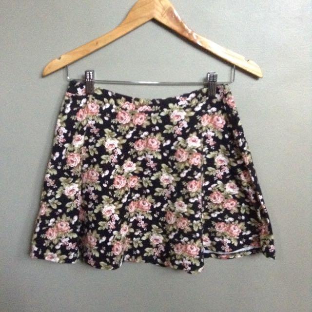 Floral Skater Skirt from Forever 21