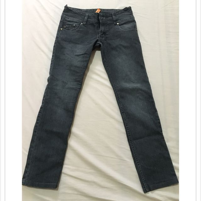 Folded And Hung Pants