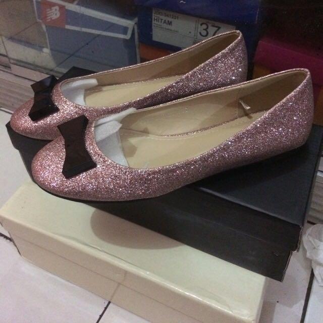Flatshoes Velvet -37
