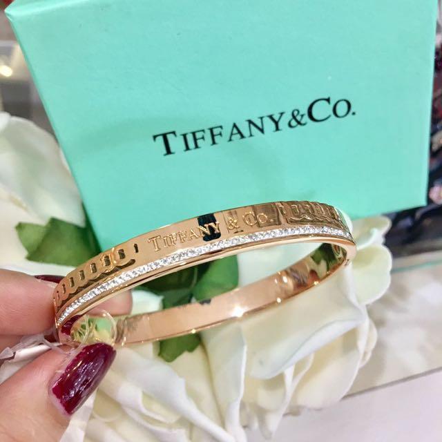 Gelang Tiffany N Co Diamond Good Quality