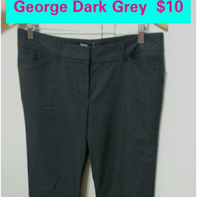 George Dark Grey Pants