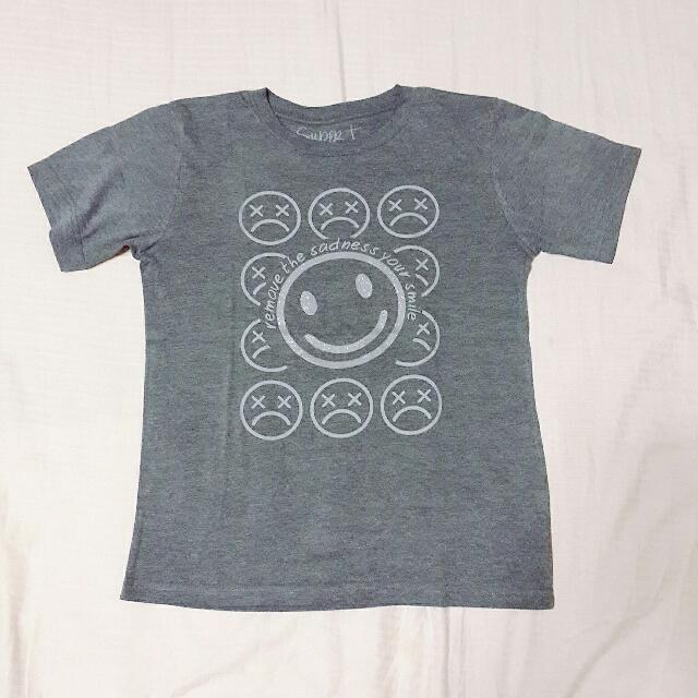 Glittered Smiley T-shirt