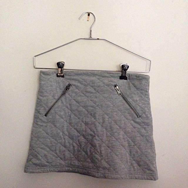 Grey ASOS Skirt