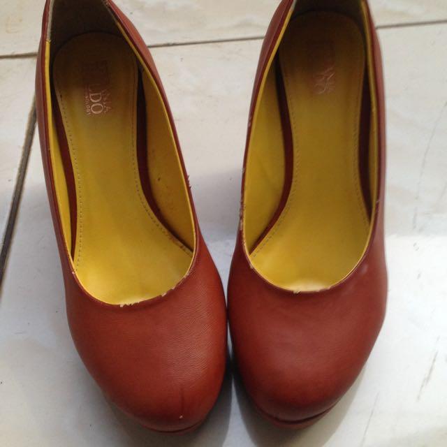 Heels STEFANIA BALDO Brown - 99% a002bb1bc8d