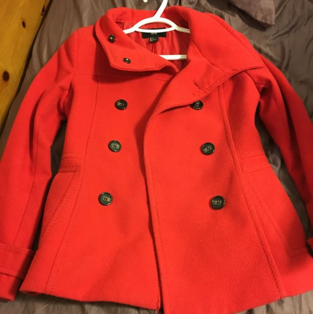 H&M Red Jacket Size 4 (34)