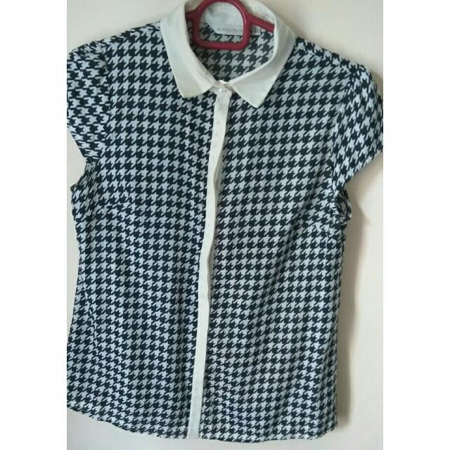 Houndstooth Shirt By Atmosphere