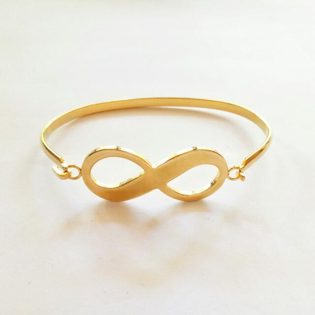 Infinity Stainless Bangle