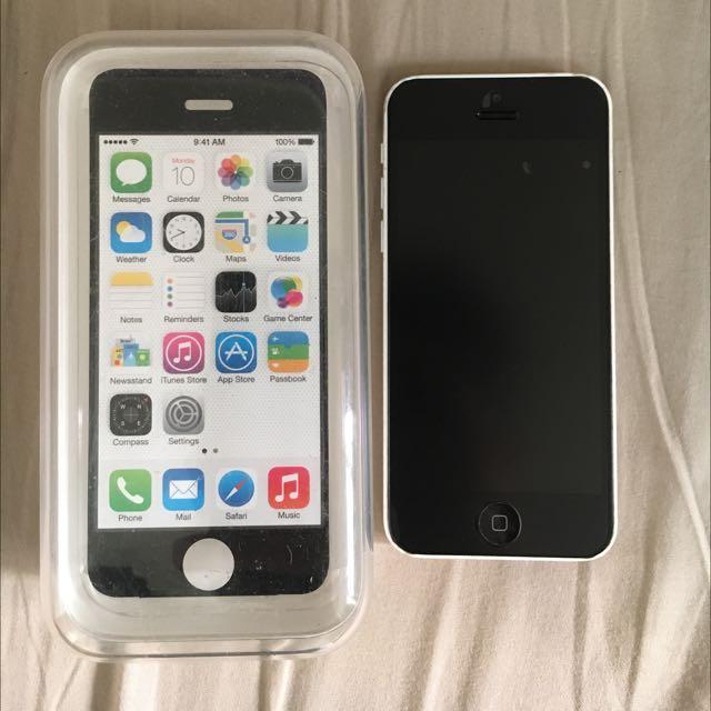 iPhone 5c 16g 白色