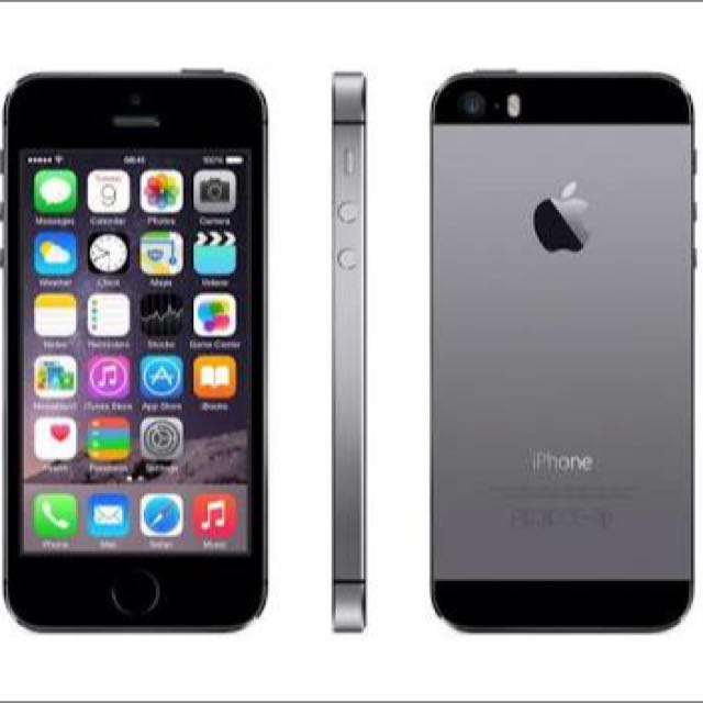 IPhone 5s Space Grey 16gb!!
