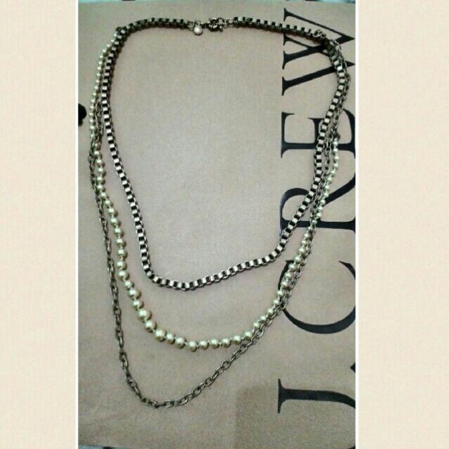 J.Crew Necklace 3Layer (NLJC3L3)