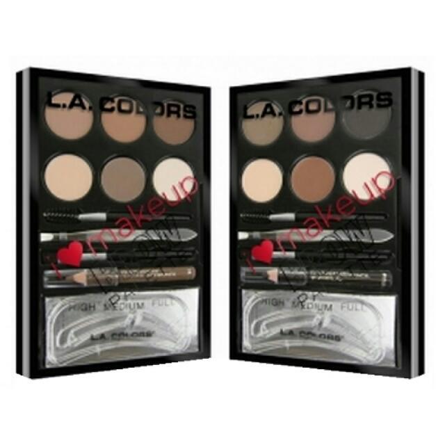 LA GIRLS- I heart makeup brow pallette