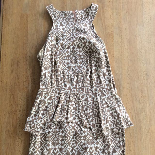 Maurie & Eve Peplum Dress